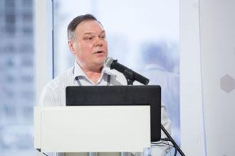 Е.М. Желваков, Полимертепло. Научно-практическая конференция, посвященная запуску первого в России производства проводящих пластмасс и саморегулирующихся нагревательных кабелей.