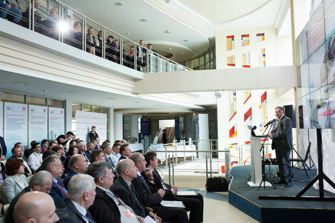 Научно-практическая конференция, посвященная запуску первого в России производства проводящих пластмасс и саморегулирующихся нагревательных кабелей.